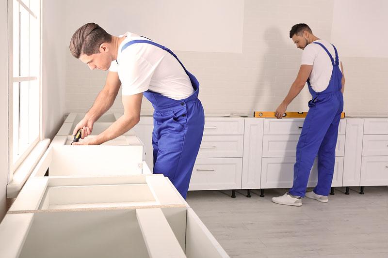 Quest Umzüge und Transporte – wir bauen Ihre Möbel auf.