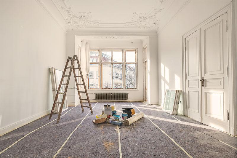 Quest Umzüge und Transporte – wir renovieren Ihre Wohnung.